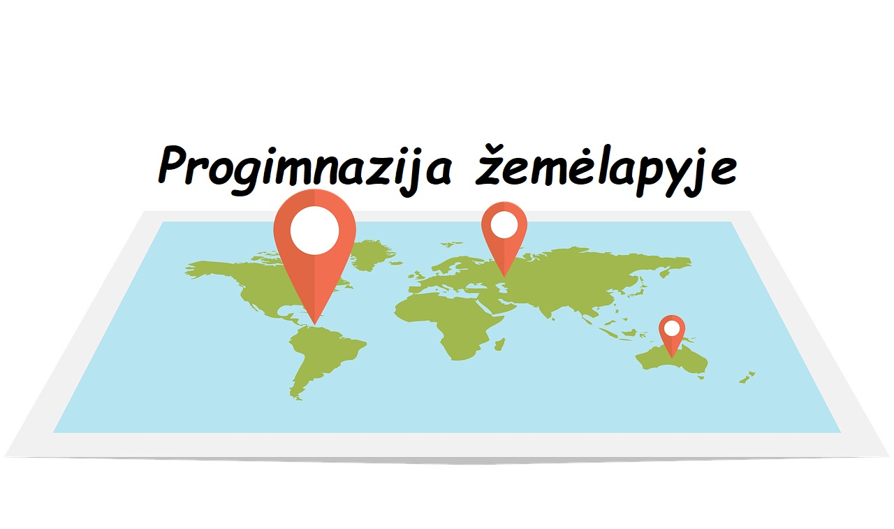 įstaiga žemėlapyje
